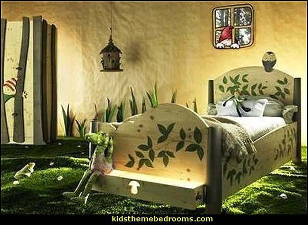 forest theme bedrooms - woodland forest theme bedroom fairies decor - fairy room decor - woodland nursery decor - woodland animal decorations - fairy woodland bedrooms - deer wall mural - snow white themed bedroom decorating ideas