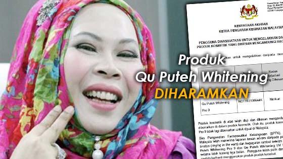 KKM sahkan produk Qu Puteh Whitening mengandungi merkuri yang tinggi