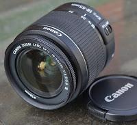 Lensa Kit 18-55mm 3 Bekas