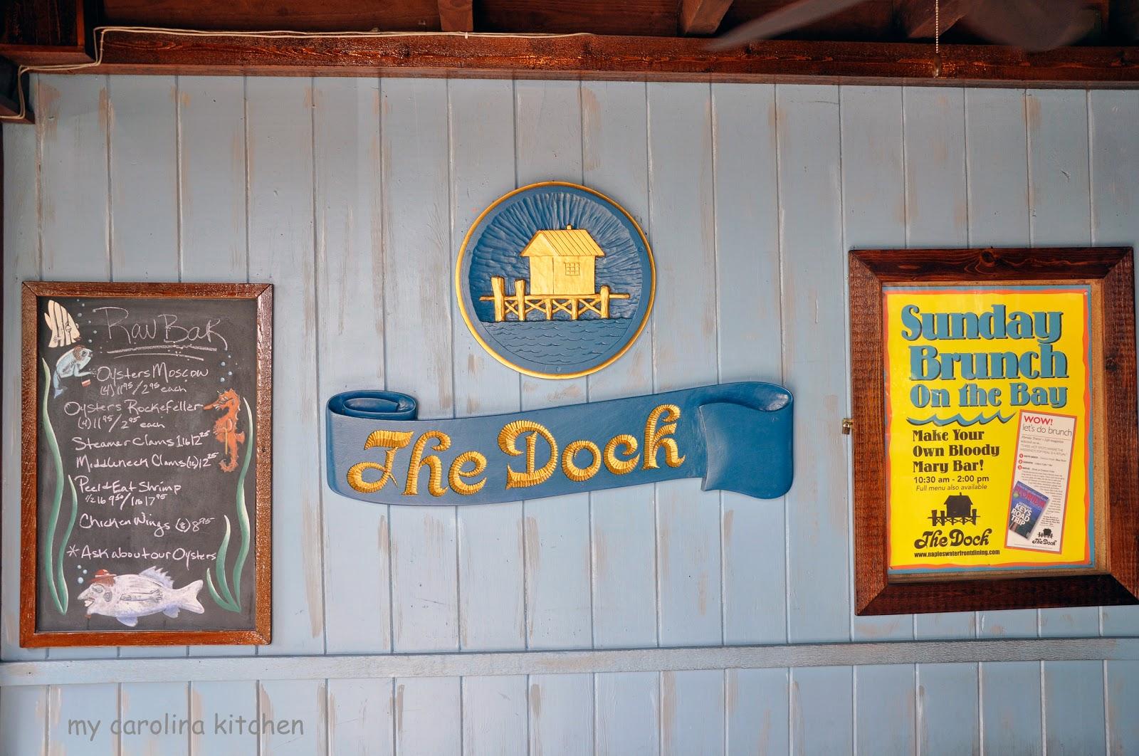 My Carolina Kitchen: The Dock at Crayton Cove - a Tropical ...