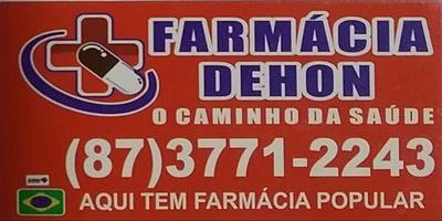 FARMÁCIA DEHON - BOM CONSELHO - PE