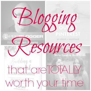 Blogging resources that are totally worth your time- Including podcasts, ebooks, printables, and more. I update this list often, so be sure to pin and check back.