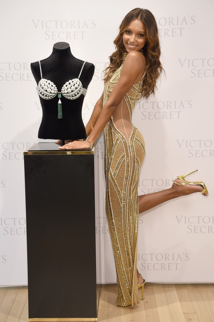 Jasmine Tookes to wear the Victoria's Secret Fantasy Bra 2016