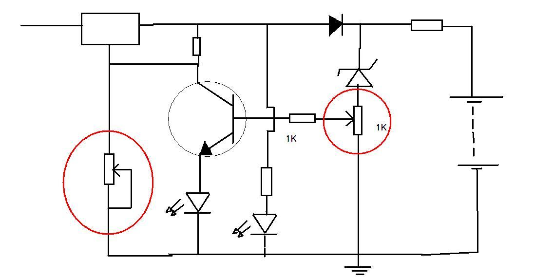 simple smart automatic battery charger circuit universal battery