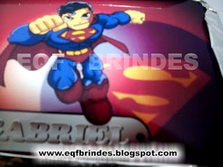 Marmitinha Superman Kid, lembrancinha superman kid, brinde superman kid, tema superman kid