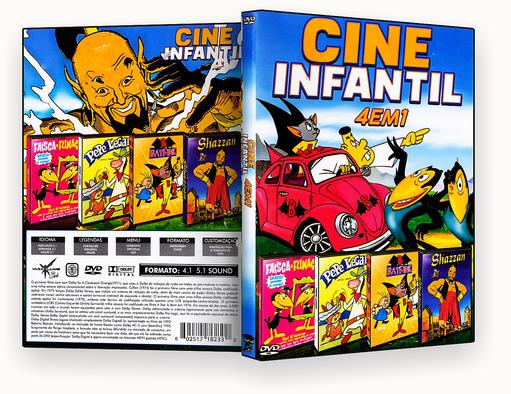 Coleção – Cine Infantil – 4 em 1 – ISO