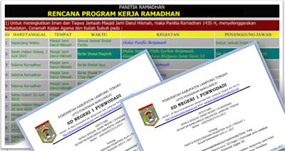 Contoh SK Panitia Pesantren Kilat untuk SD SMP dan SMA www.aan88.NET