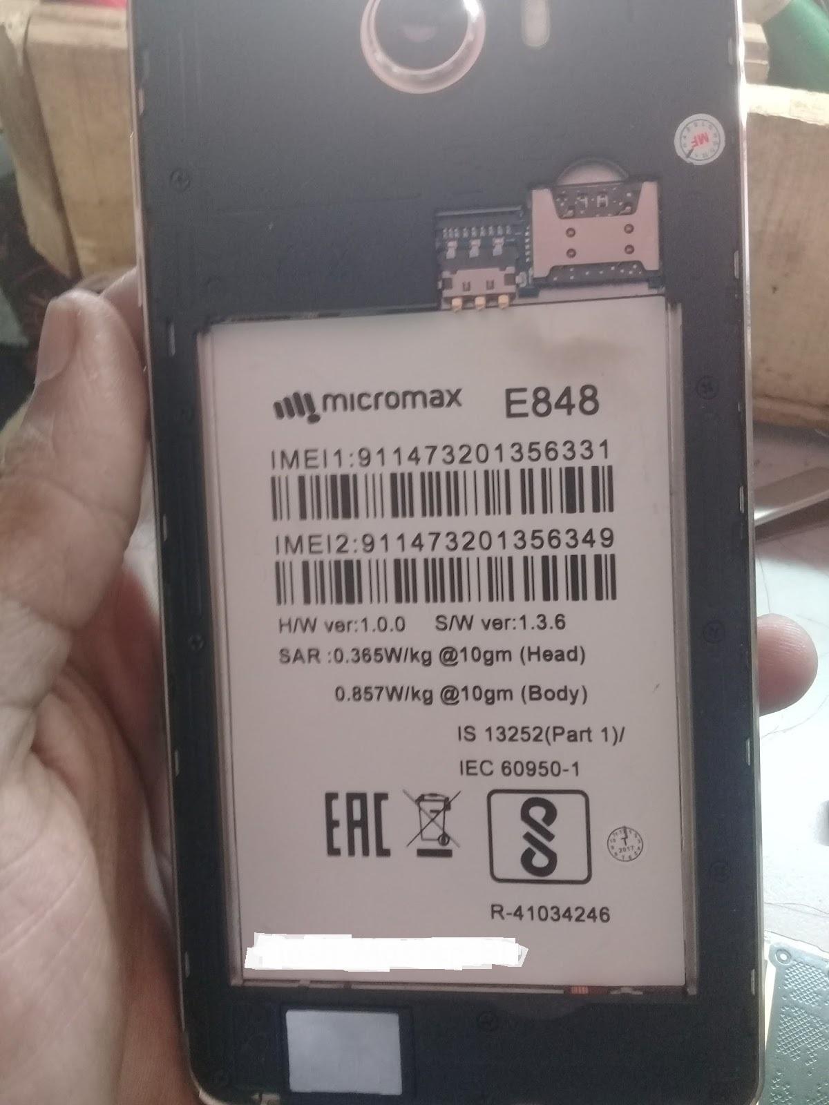 HASINA TELECOM **: MICROMAX E848 FLASH FILE MT6580 6 0 FIRMWARE 100