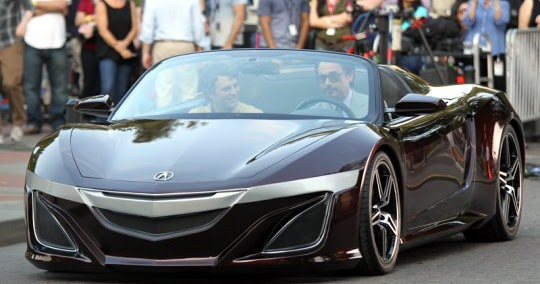 Just A Car Guy Acura Supercar From The Avengers Movie