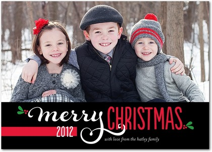 Christmas Cards 2012 With snap