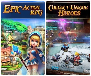 Heroes and Titans 2 Mod Apk Unlimited HP for Android