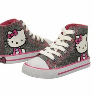 Gambar Sepatu Hello Kitty untuk Anak 8