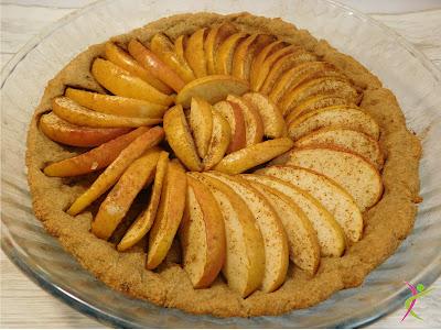 jabłka, deser, amarantus
