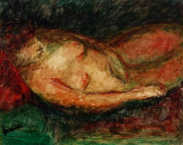 Emiliano García Tur pintura cuadro figura