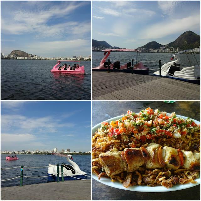 Onde comer e se divertir no Rio de Janeiro? Quiosque Arab (Lagoa)