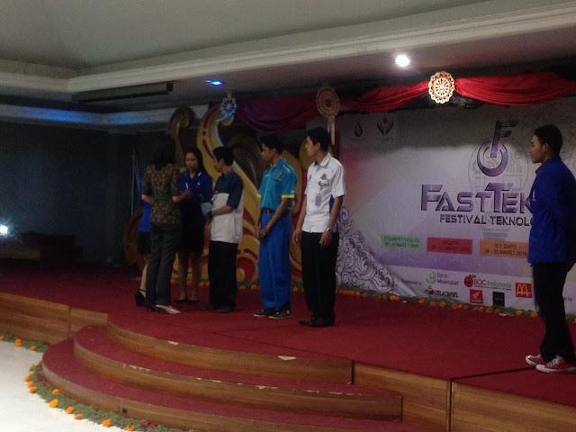 Lomba FastTekno 2016 - SMK TI Bali Global Denpasar
