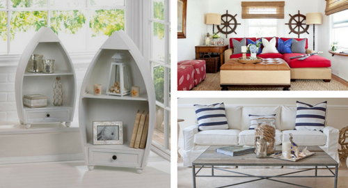 Beach Home Décor To Create Nautical Theme For Your House