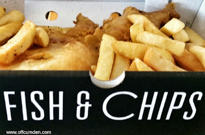 fish and chips Blackpool