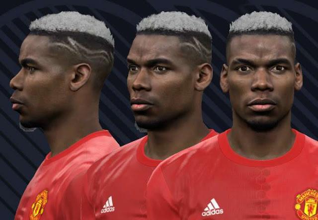 Paul Pogba New Face PES 2017