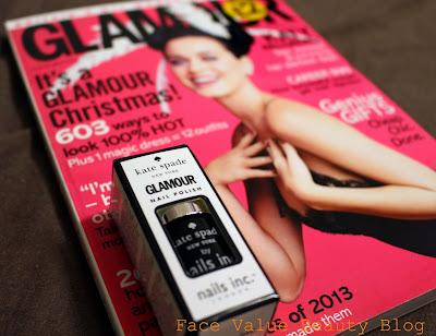 glamour mag free nail polish kate spade nails inc