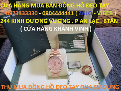 Chuyen thu mua dong ho rolex date just cu