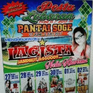 Pesta Lebaran 1438H - 2017 Pantai Soge Pacitan