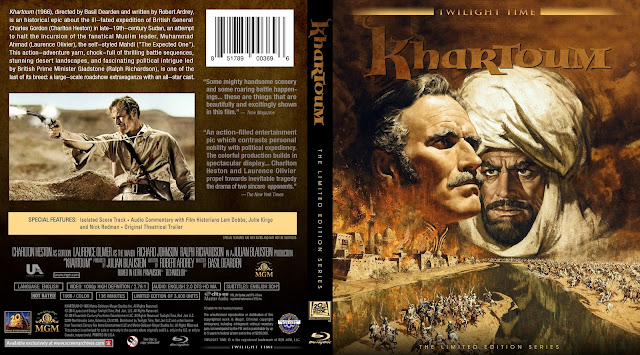 Khartoum (1966) Bluray Cover