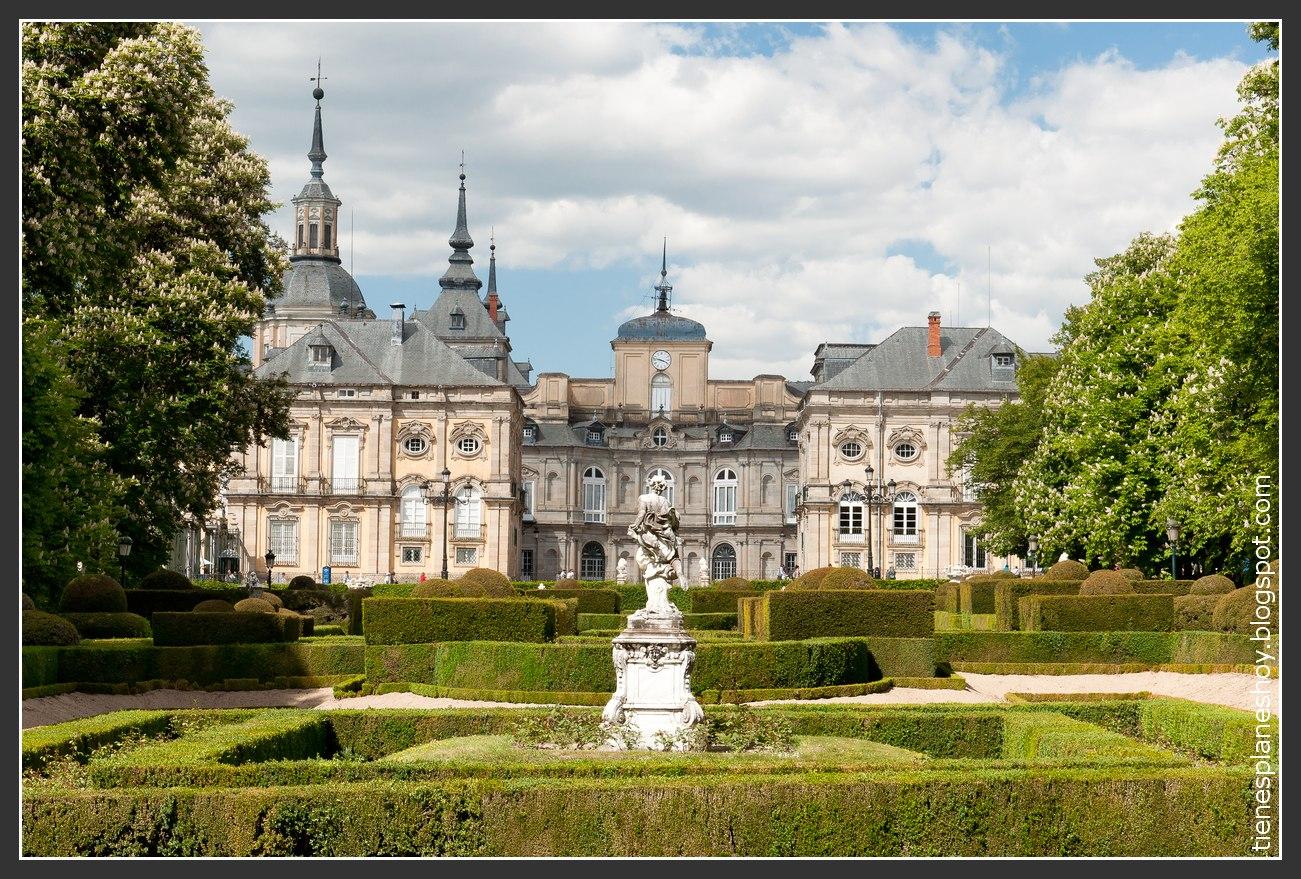 Palacio real de la granja de san ildefonso unas fuentes for Jardines la granja