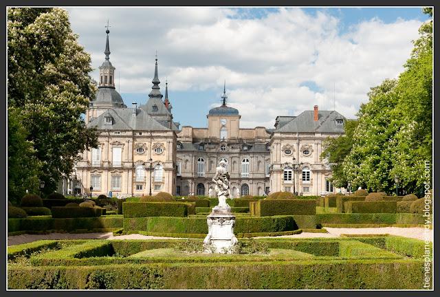 Palacio Real y jardines de la Granja de San Ildefonso