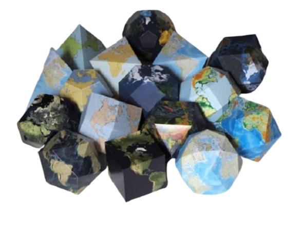 globos terraqueos, papel, globos terrestres, manualidades, plantillas