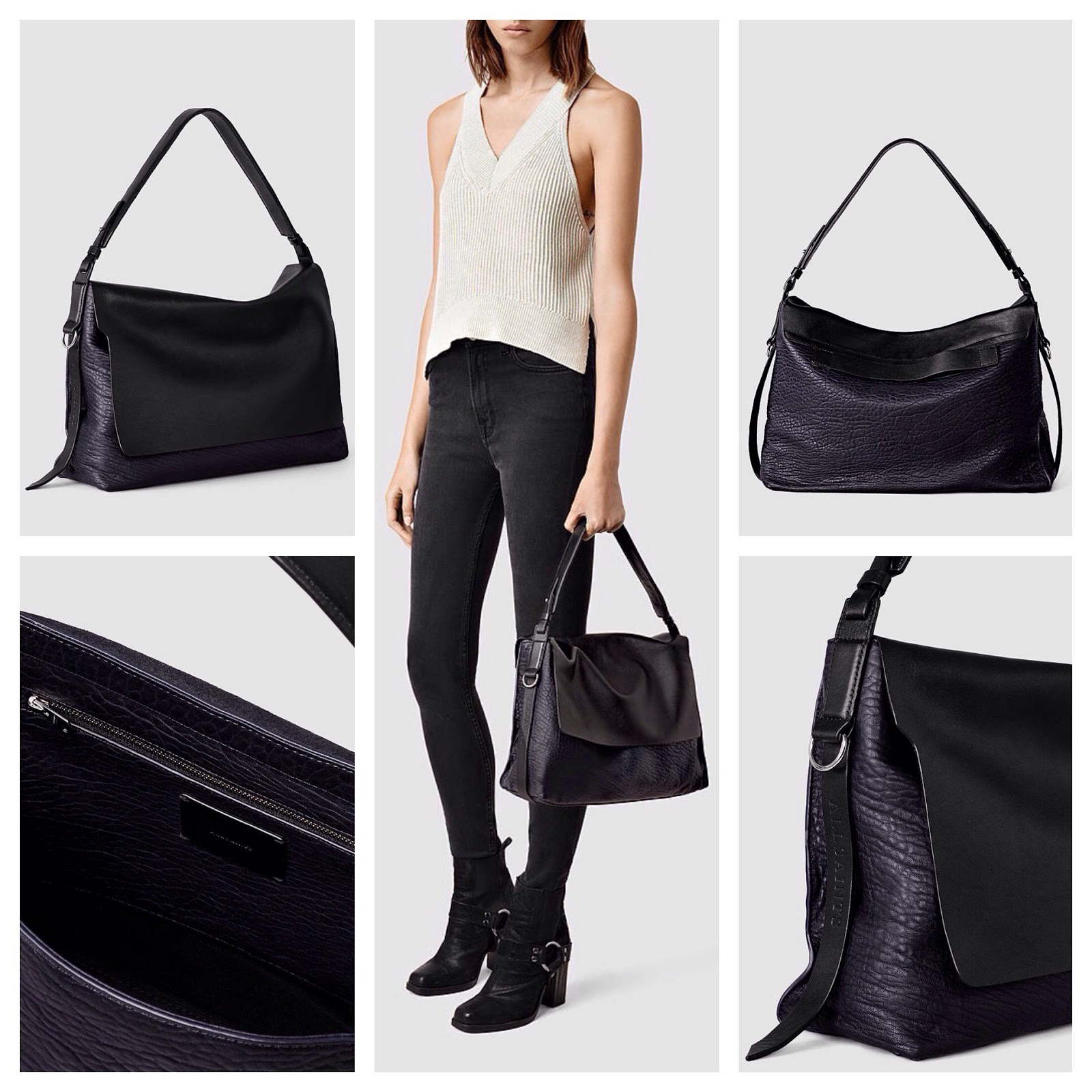 be6435c65 I also just ordered this crossbody for summer. Really high quality leather,  great construction, and they will match your leather jacket. :D