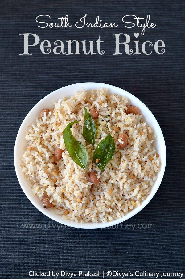 Peanut rice, groundnut rice