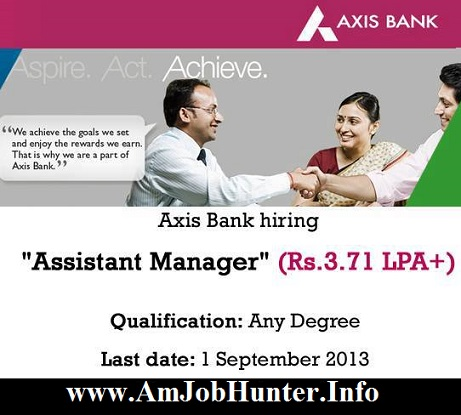 axis bank jobs in bangalore