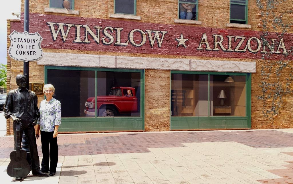 wandering his wonders standing on the corner in winslow arizona. Black Bedroom Furniture Sets. Home Design Ideas