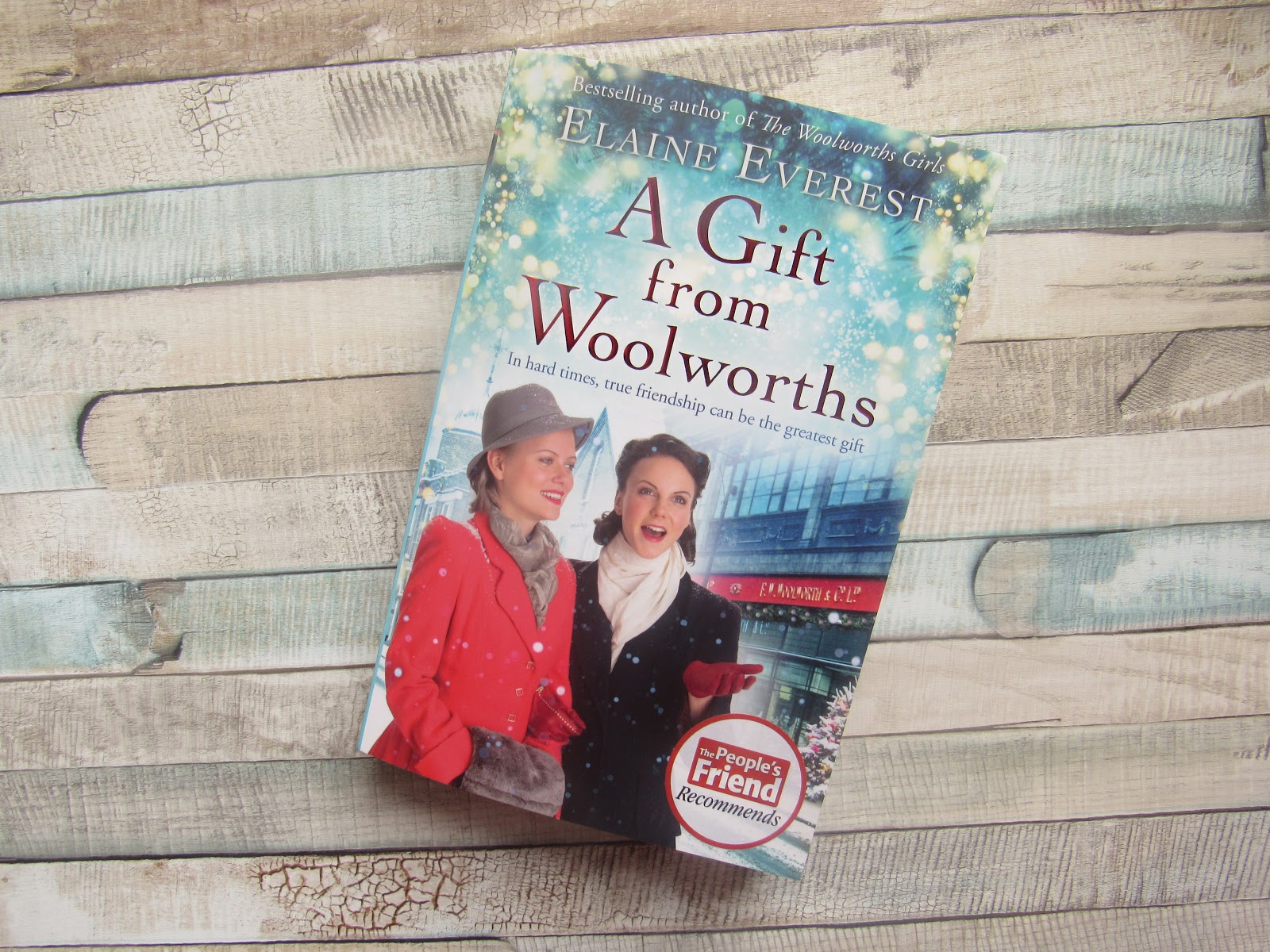 Paperback book of A Gift From Woolworths by Elaine Everest