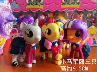 School of Friendship CMC Accessories Spotted + Fluttershy