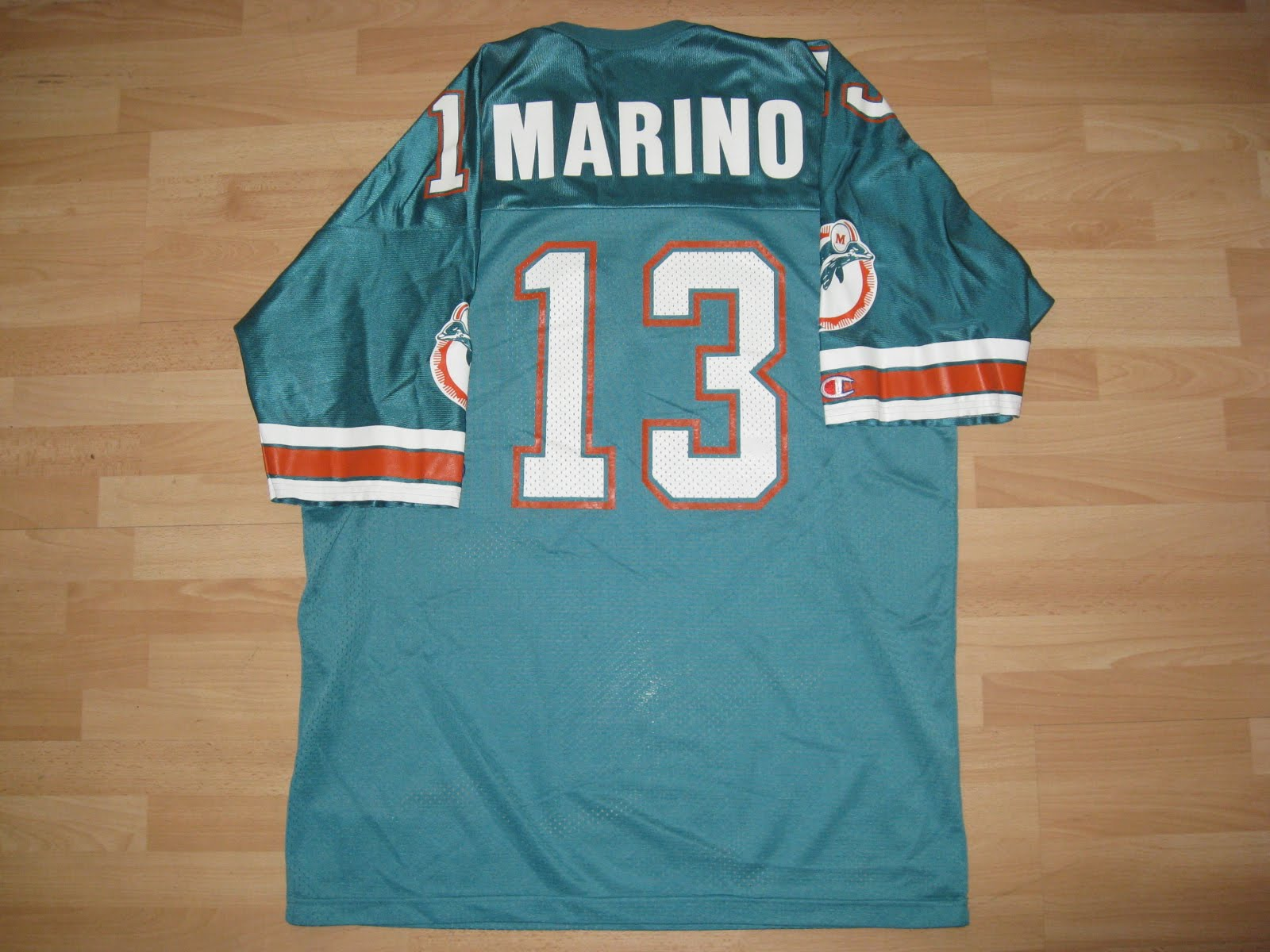 good 4f73a 6d802 Virgil's Blog: Miami Dolphins x Dan Marino [1988-1992]