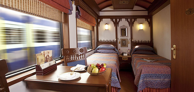 Deluxe Cabin on board Maharajas' Express
