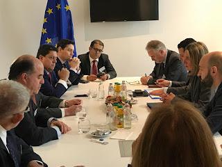 Diplomacia de la Unión europea con oposición venezolana