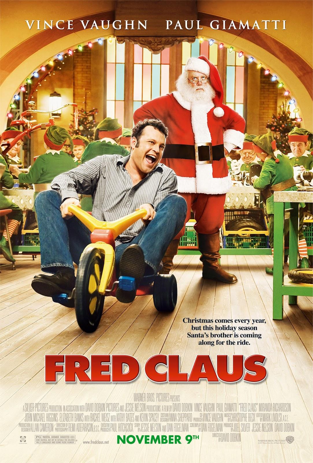 Fred Claus (2007) ταινιες online seires xrysoi greek subs