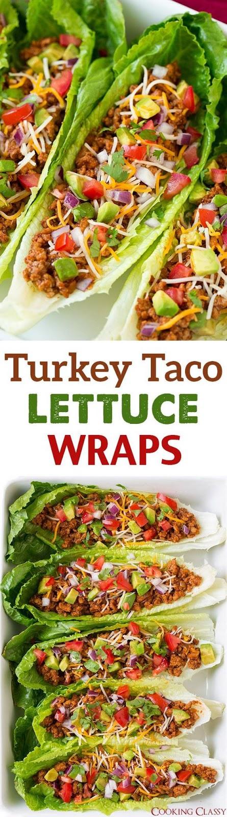 Turkey Taco Lettuce Wraps | CUCINA DE YUNG