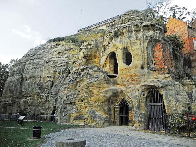 Las cuevas de Nottingham | Inglaterra