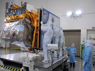 Earth-Observing Satellite