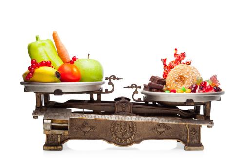 Здоровый баланс натрий-калий в продуктах питания.