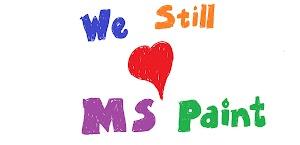 Calma gente! O MS Paint não morreu, e está vivíssimo!