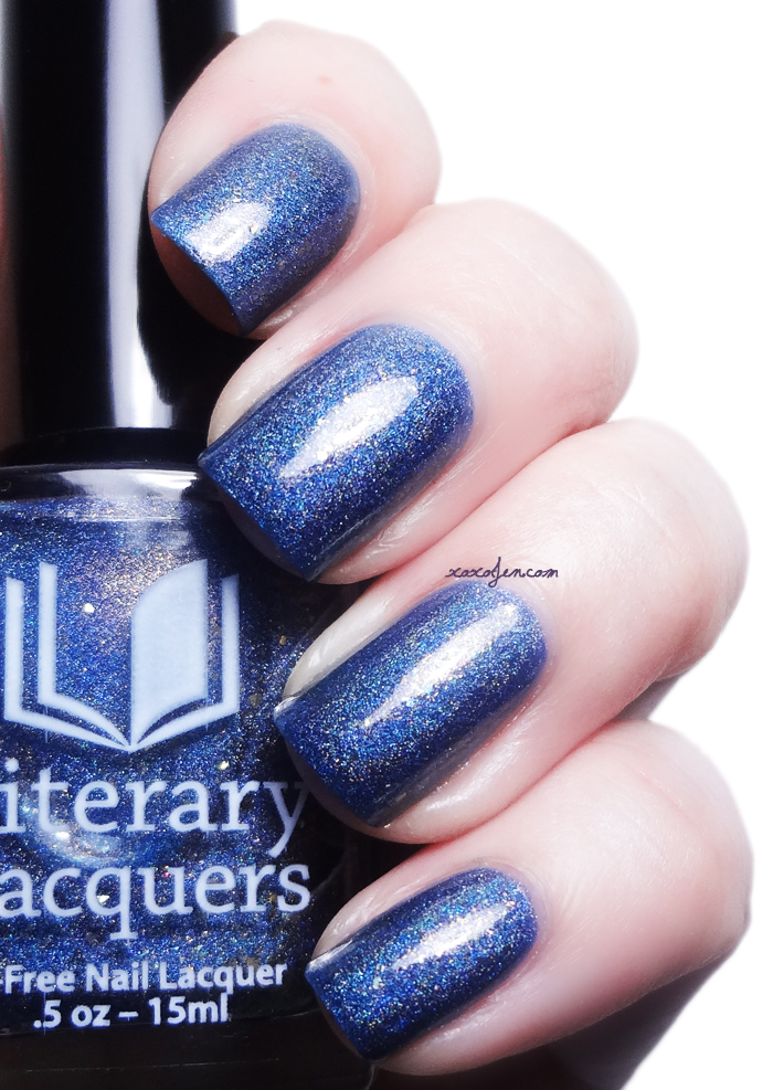 xoxoJen's swatch of Literary Lacquers Fallen Tributes