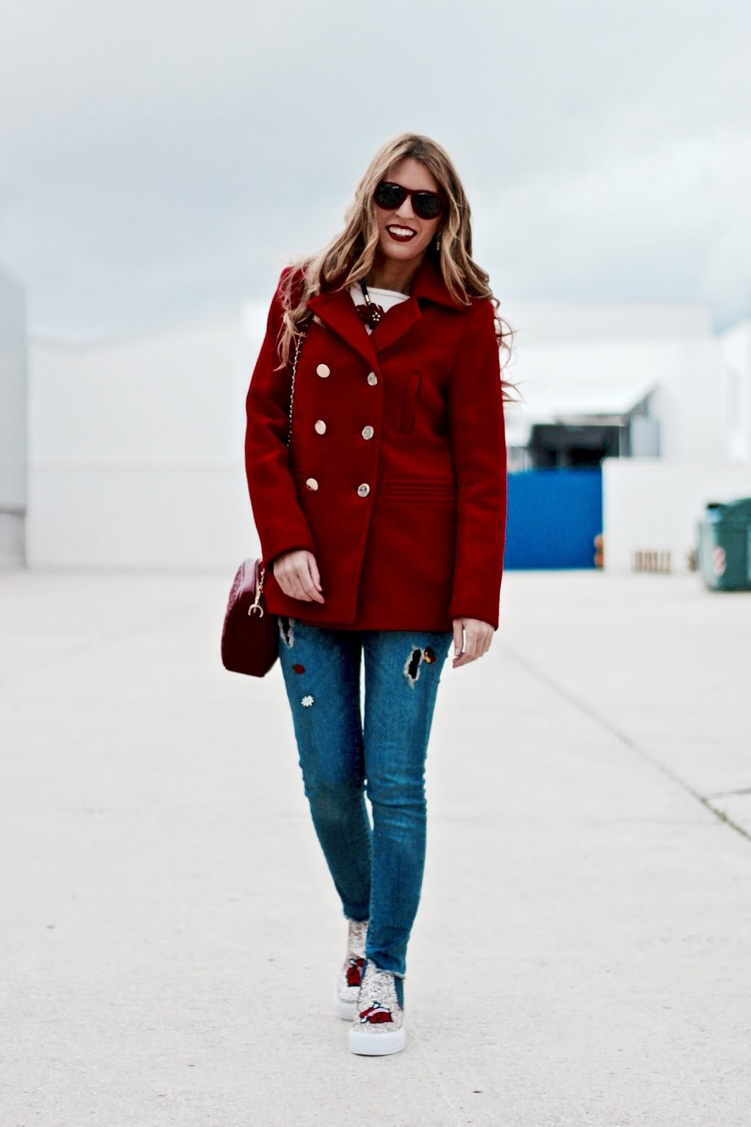 abrigo rojo tintoretto