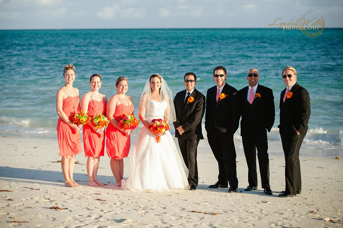 Sam + Chris | Grand Bahama destination beach wedding ...