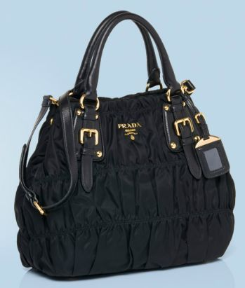 c8881b1d345c Bagz Hauz Fashion  PRADA Gaufre  Fabric Tote BN1792 (UPDATED!)