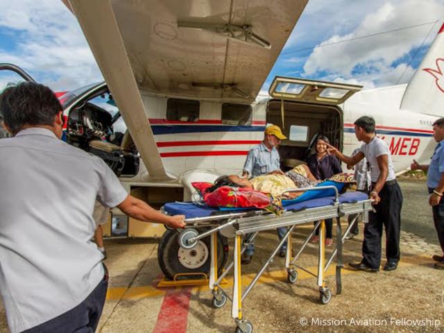 Photo of MAF Medical Evacuation Flight